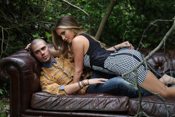 Max George and Hannah Davis :: Images courtesy of Buffalo