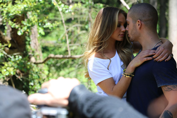 Max George and Hannah Davis :: Images courtesy of Buffalo