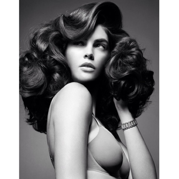 @hilaryhrhoda: @luigimurenu givin' good hair! Xoxxo by Mario Sorrenti #tbt