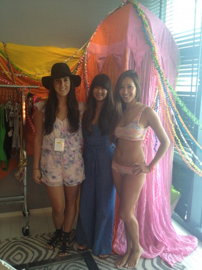 Alyssa, Vy from Lolli and model Nicole Roady