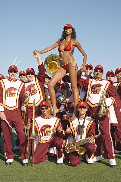 Jessica White at USC :: Anne Menke/SI (2006)