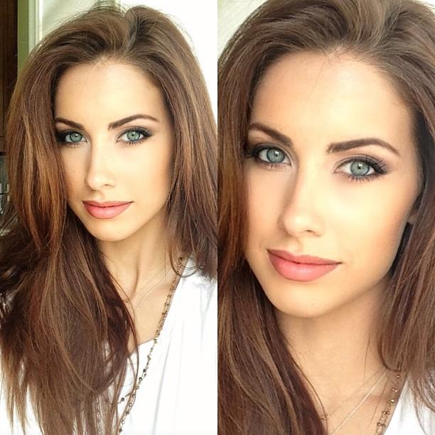 @_katherinewebb: So those who have asked, I love using Giorgio Armani Silk foundation, Dior Blackout mascara, Stilla pallet eyeshadow and Smashbox liner!