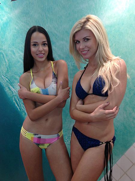 Sierra Favreau and Erika Valiunaite for Cyn and Luca (cynandluca.com) :: Janine Berey/SI