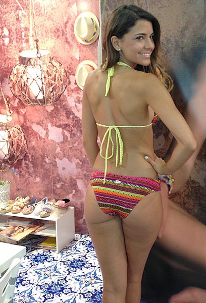 Daniela Battistini for Saha Swimwear (sahaswimwear.com) :: Janine Berey/SI