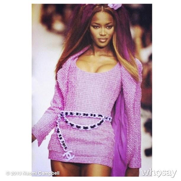@iamnaomicampbell: #purplehaze #channeldaze
