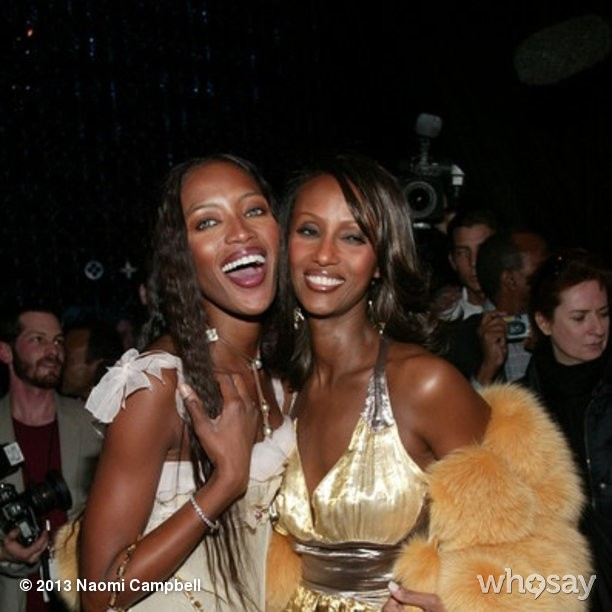 @iamnaomicampbell: #HappyBirthday@The_Real_Iman #loveandrespectalways