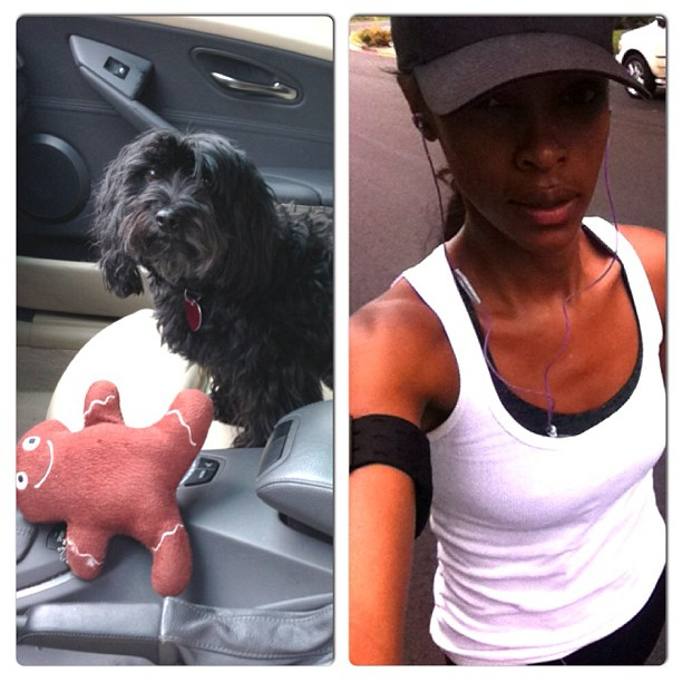 @quianagrant: Dropped off my little buddy for grooming and got my 2 miles in. #getup #itsyourlife #energizeyourself #justdoit #fitness #mylifestyle #mylove #okenoughhashtags #hopeispelledeverythingright