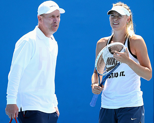 Kevin Bacon and Maria Sharapova :: Allen Berezovsky/WireImage