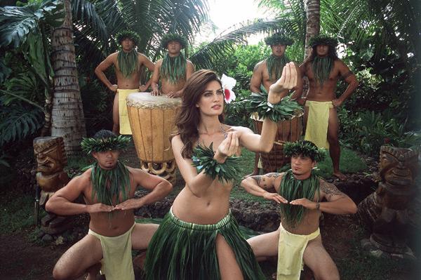 Yamila Diaz-Rahi in                        Maui :: David E. Klutho/SI (2006)