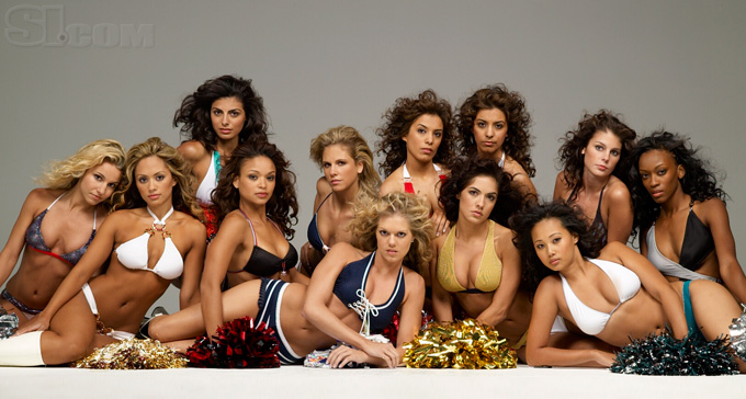 NFL Cheerleaders :: Stewart Shining/SI