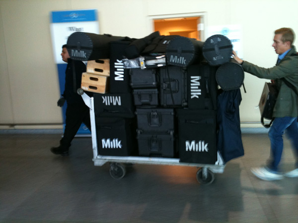 Baggage for Namibia shoot