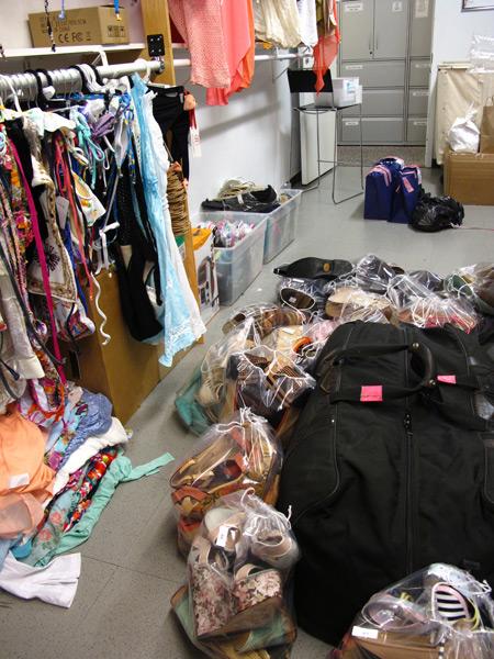 Swimsuit closet :: Darcie Baum/SI