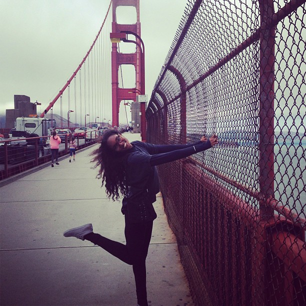 @damarislewis: Golden Gate Love. San Fran.
