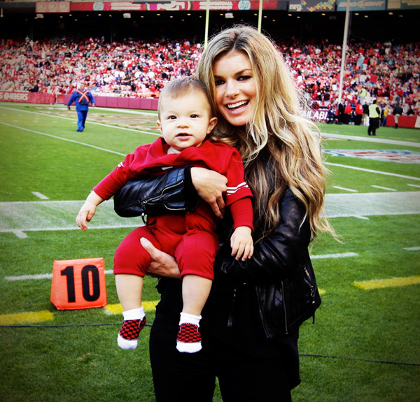 Marisa and her son, Gavin. :: @marisamiller