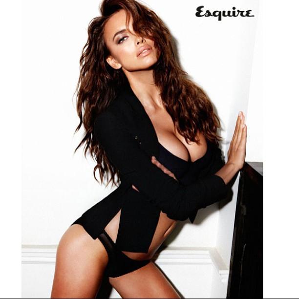 @irinashayk: bs Esquire UK