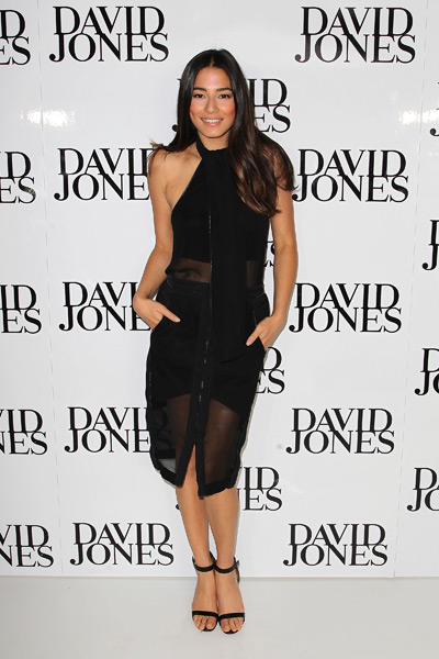 Jessica Gomes attends an in-store signing at David Jones Bourke Street Mall in Melbourne ::  Graham Denholm/Getty Images
