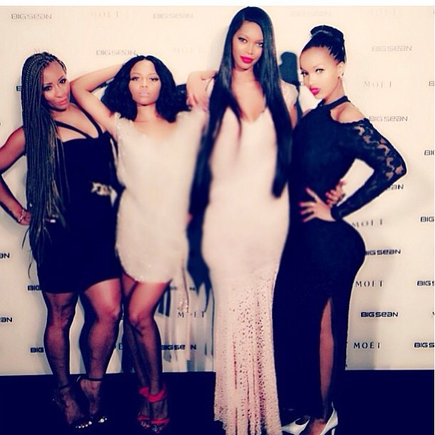 @iamjesswhite: @hazelebaby @misstmari @theelolamonroe #beauty