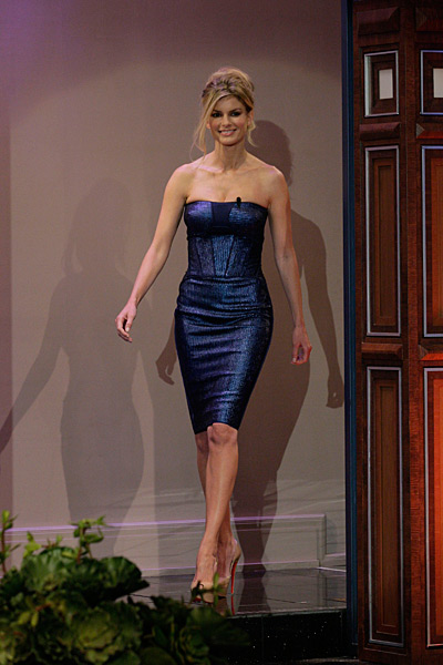 Marisa Miller appears on The Tonight Show with Jay Leno :: Paul Drinkwater/Getty Images