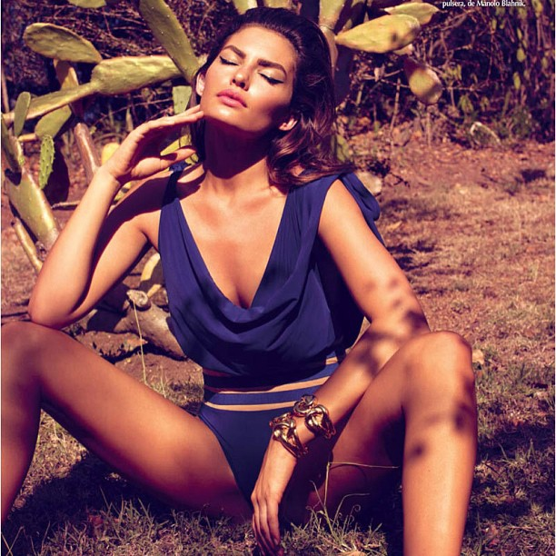 @luvalyssamiller: Throwback with #LatinVogue