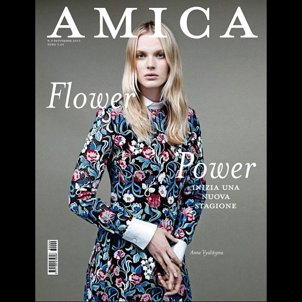@annev_official: Amica September 2013 cover shot by Alex Cayley