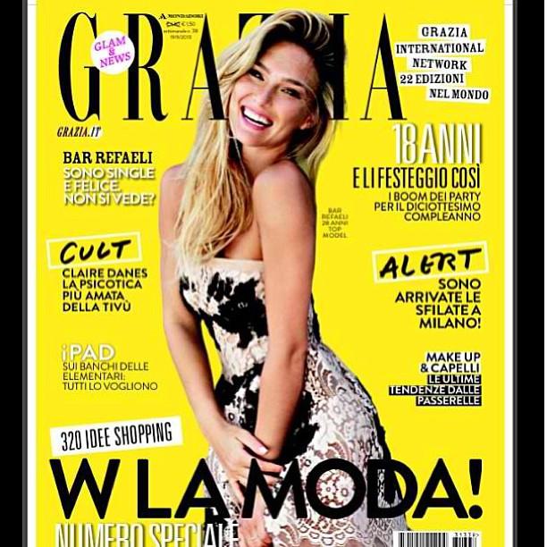 @barrefaeli: Italian Grazia cover