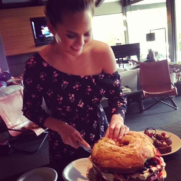 @chrissyteigen: Master baker