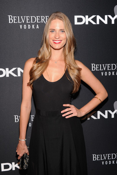 Julie Henderson attends the #DKNY25 Birthday Bash. (Photo by Jamie McCarthy/Getty Images for DKNY)