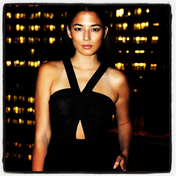 @iamjessicagomes: Last night nyc #wglobalstyleissuedinnerparty at the Peninsula rooftop #salondening wearing @becandbridge thank you @melvin0619 always so good to see you.