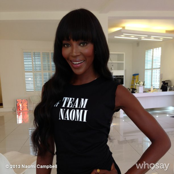 @iamnaomicampbell: Who's joining me on #TeamNaomi? #TheFaceUK - coming soon to @SkyLivingOnline