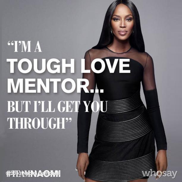 @iamnaomicampbell: 1 day to go! #TheFace UK