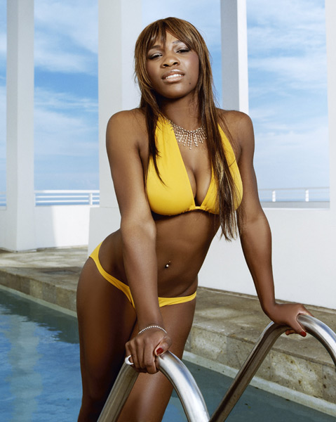 Serena Williams :: Walter Iooss Jr./SI