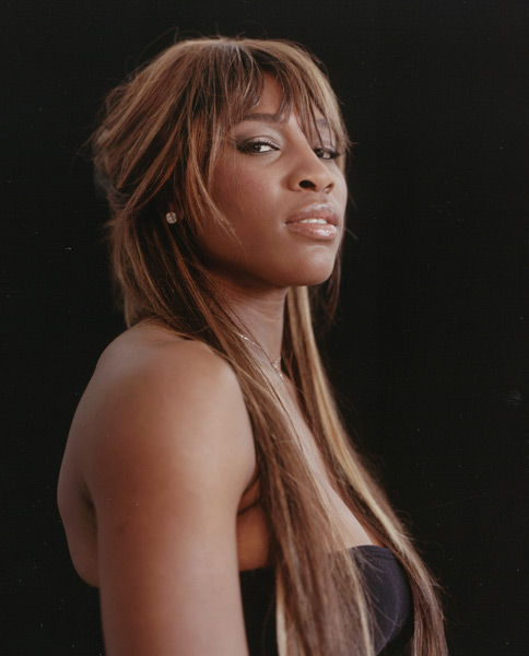 Serena Williams :: Walter Iooss Jr./SI (2004)