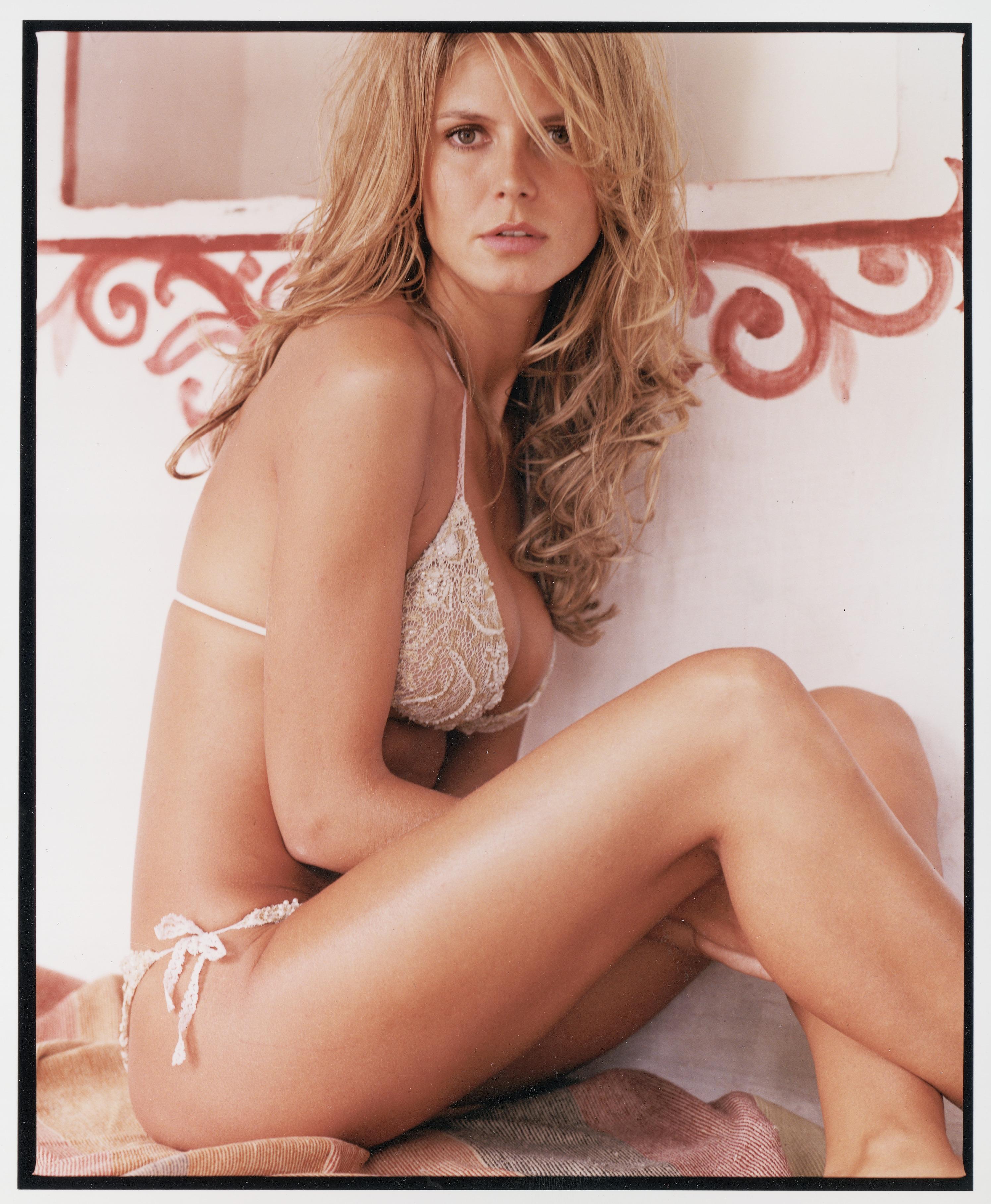 Heidi as purveyor of the polished bed-head look :: Stewart Shining/SI