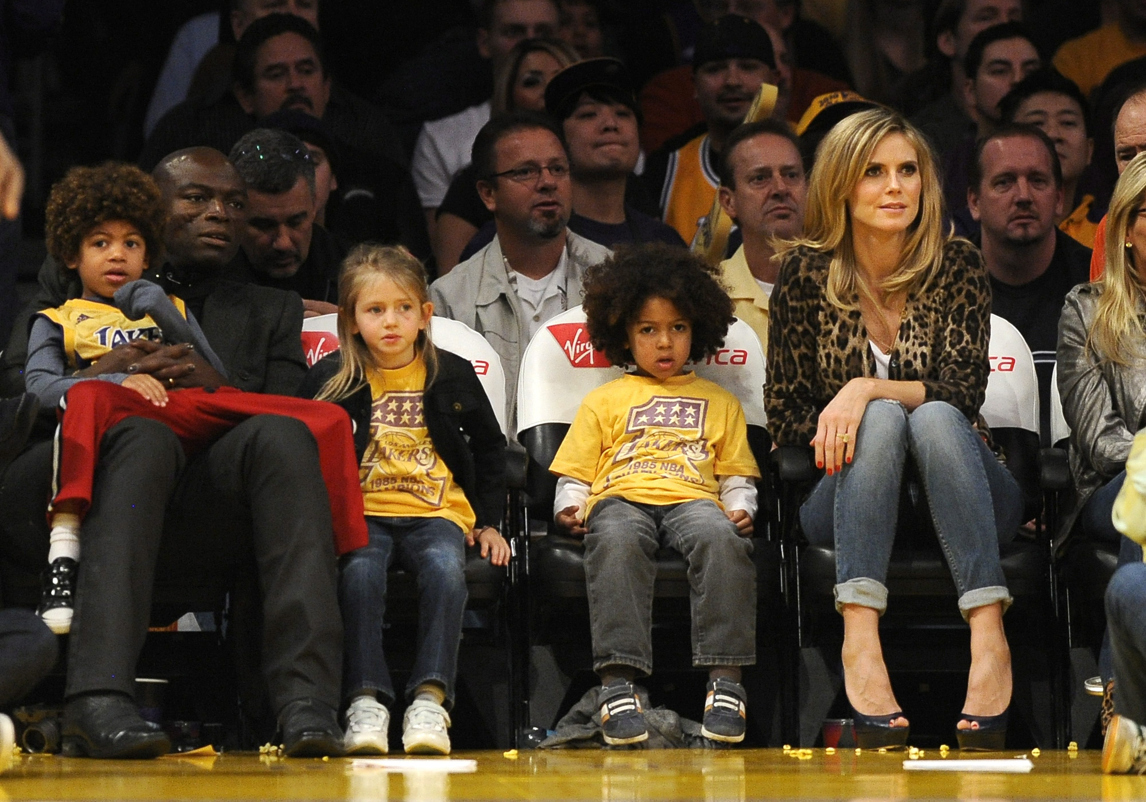 """Heidi as doting matriarch and/or """"cool mom"""" :: John Parra/Getty"""