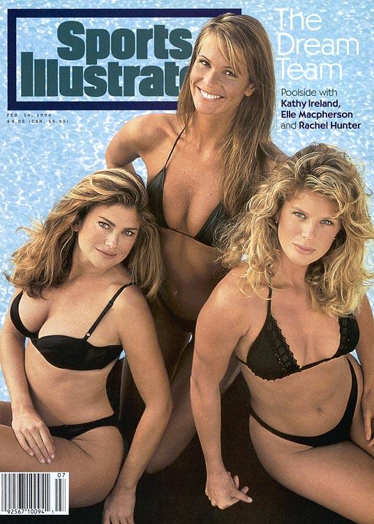 1994 - Kathy Ireland, Elle Macpherson and Rachel Hunter