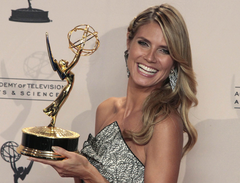 Heidi as Emmy winner :: Jonathan Alcorn/Reuters