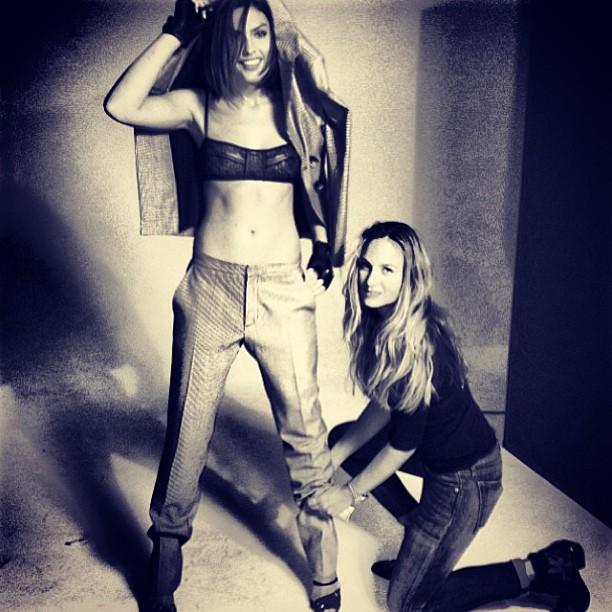 @luvalyssamiller: That's a wrap on my @wattsupphoto @flauntmagazine shoot! Amazing styling @jeanannwilliams