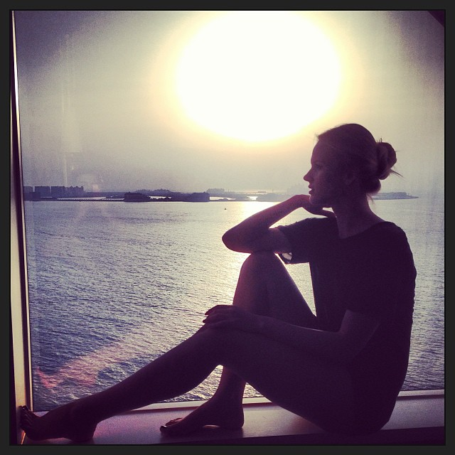 @annev_official: Last sunset of #Dubai #blessed