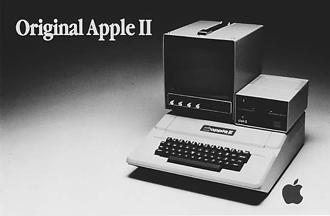 Apple is expected to annouce the new iPad today. Here's a look at the original Apple II.