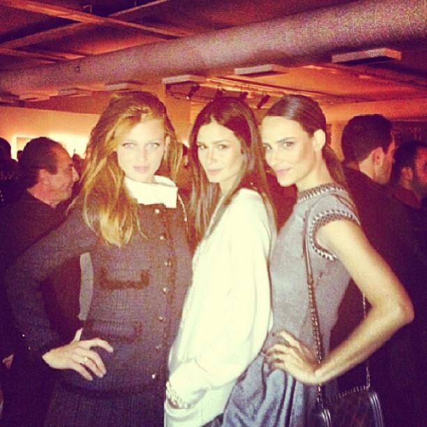 @cintiadicker: Chanel party in brasil last night @caropita @fernandatavares_oficial
