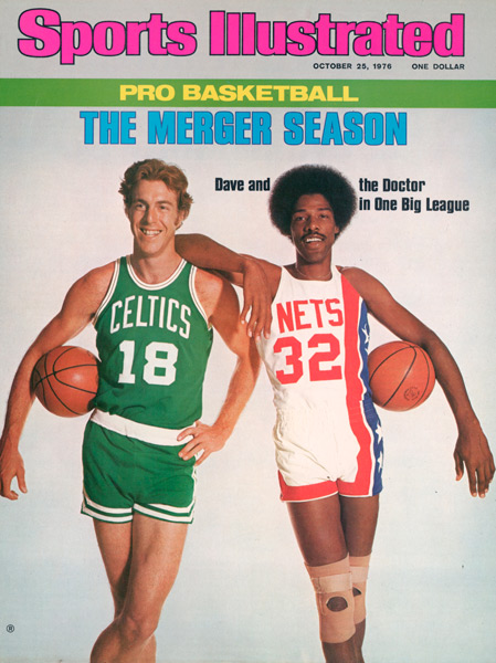 Dave Cowens (pictured here on SI's 1976 Pro Basketball preview issue) turns 65 today. (Irving Penn/SI)