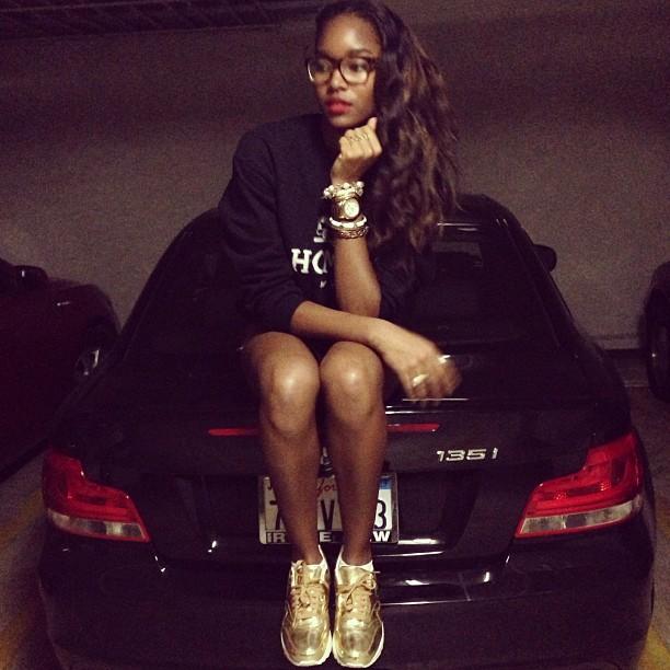 @damarislewis: Somewhereinamerica x Liquid Gold.
