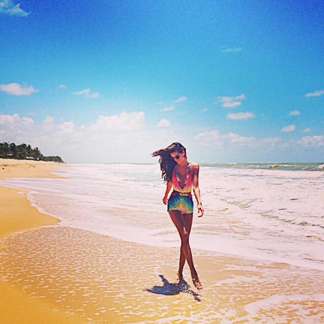 @iza_goulart: Enjoying Friday at Trancoso!! Aproveitando a sexta feira!!! Trancoso Style!! #ocean #mar #sol #praia #friday #friends #style #lifestyle #funinthesun #trancoso #bahia