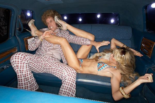 Will Ferrell and Heidi Klum :: Andrew MacPherson/SI