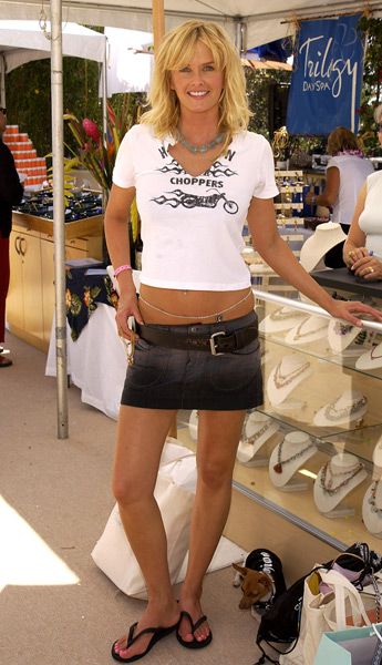 Bax at Laura Gibson during The Silver Spoon Beauty Buffet in Sept. 2003. (Jean-Paul Aussenard/WireImage)