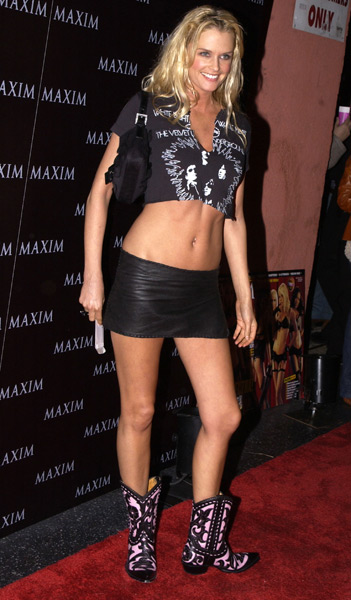 Bax attends a live performance by The Pussycat Dolls in Dec. 2002. (Albert L. Ortega/WireImage)