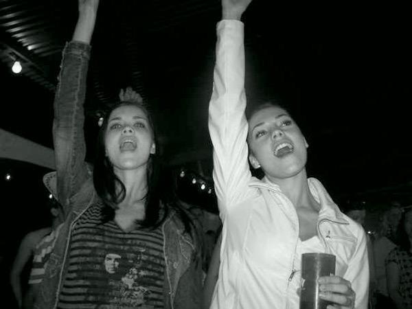 Natasha Barnard and Monique Minnie :: Courtesy of Monique Minnie