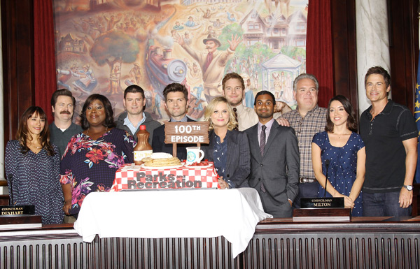 NBC has decided to put Parks and Rec on hiatus for the next three weeks. I do not approve of this decision. (Getty Images)