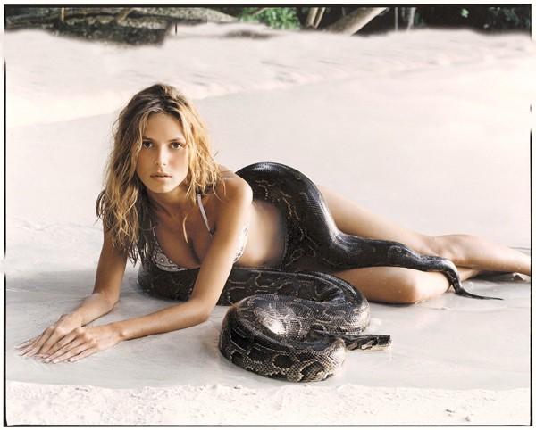 Heidi Klum in 2000  ::  Robert Erdmann