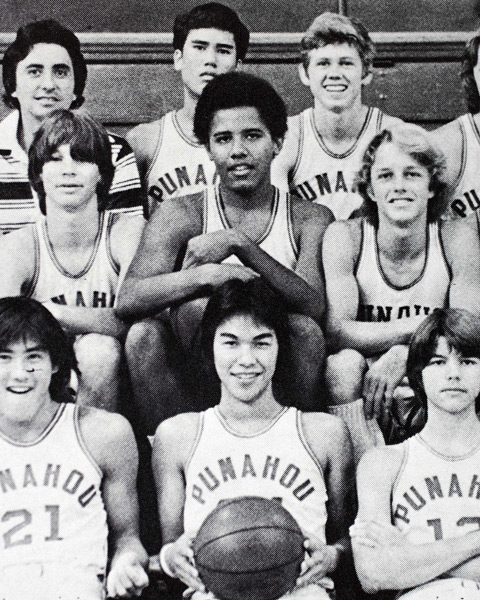 Barack Obama, Class of '79, Punahou School (Honolulu)